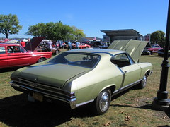 Chevrolet Chevelle SS 396 (smaginnis11565) Tags: chevrolet chevelless396 musclecar mark2chevelle 1968chevelle carshow haverstraw newyork rocklandcounty 2019