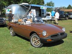 Brown 1979 MGB Roadster (smaginnis11565) Tags: mg mgb roadster 1979mgb britishcar britcar carshow haverstraw newyork rocklandcounty 2019