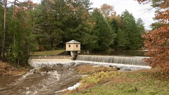 Spring Brook Reservoir - Explored October 29, 2019 (Sandra Mahle) Tags: reservoir water lake autumn ngysa canon naturephotography nature ngysaex explore canonphotography
