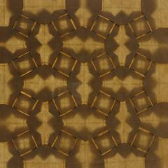Woven Parallelograms Tessellation (back-lit) (Michał Kosmulski) Tags: origami paperart tessellation rhombi squares pattern backlight backlit michałkosmulski goatskinpaper beige cream