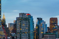 Murray Hill Early (fate atc) Tags: manhattan murrayhill newyork buildings city earlymorning frommidtown lights skyline
