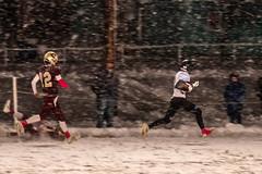 Football Season in Montana (Kim Tashjian) Tags: football montana sports snow