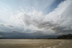 Sunny Cyprus (JarHTC) Tags: fujifilm xt20 samyang 12mm salt lake clouds storm landscape