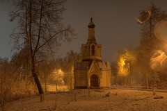 the best is yet to come (Sergey S Ponomarev) Tags: sergeysponomarev canon 70d eos ef24105f4lisusm landscape paysage paesaggio landschaft winter autumn firstsnow night notte neve church lamps lanterns hdr highdynamicrange kirov vyatka russia russie europe 2018 buildings trees trails october fall сергейпономарев город city citta зима осень октябрь пейзаж первыйснег ночь киров россия вятка церковь
