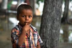 Innocence (Karunyaraj) Tags: kolkatta innocence innocent kid kidspotrait kidsexpression potrait bokeh silkybokeh cuteexpression pose westbengal nikon24120 d610 cwc742 cwc