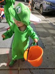 Rabbid Luigi (quinn.anya) Tags: eliza toddler rabbidluigi mariorabbidskingdombattle halloween costume