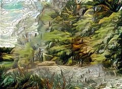 Lens & Brush 17 (V_Dagaev) Tags: forest trees nature landscape art digital painterly painting painter paintingsfromphotos paint visualdelights