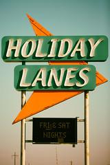 Holiday Lanes (Thomas Hawk) Tags: america caddo caddoparish holidaylanes louisiana shreveport usa unitedstates unitedstatesofamerica bowling bowlingalley neon fav10 fav25 fav50 fav100