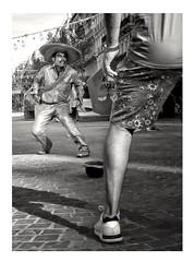 Duel on the Canebière. (streetspirit13) Tags: streetphotographer marseillestreet streetpassionaward candidstreetphotography streetphotography streetlife bw bnwphotographer bnwdemands capturestreet canonfrance blackandwhite noiretblanc duel rawstreet