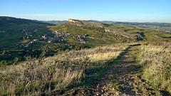 Panoramic trail (Chemose) Tags: sony ilce7m2 alpha7ii octobre october autumn automne mâconnais bourgogne burgundy bourgognedusud france paysage landscape hdr rochedesolutré vergisson rochedevergisson vignoble vigne sentier trail southernburgundy