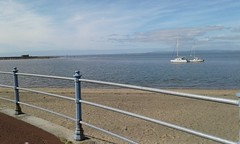 View across Morecambe Bay and Old Jetty, from Marine Road (Belmont_21988uk) Tags: morecambe bay seaside beach