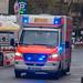 Rettungsfahrzeug beim Frankfurter Marathon