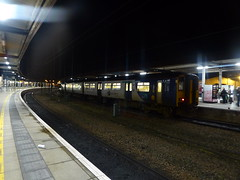 Northern Class 150 at York.  October 2019 (dave_attrill) Tags: class150 sprinter northernrail dmu train railway station york northyorkshire yorkshire october 2019