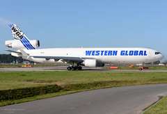 N412SN MD-11F Western Global Airlines (MM Aviation Photography) Tags: mcdonnelldouglas md11f md11 n412sn westernglobal wgn wgn4249 maastricht mst ehbk