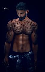No842 (ashraf rathmullah) Tags: tattoo junaolly bn for man httpsjunaartistictatooblogspotcom201910ollytattoohtml beard mf daniel bento hipster stache medium flickr store rkkn bachelors pants dark blue remis waist shirt plaid v5 facebook juna
