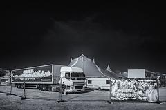 EALING 111 (Nigel Bewley) Tags: ealingcommon ealing london england uk circusextreme bigtop circus unlimitedphotos nigelbewley photologo october october2019 canonef1635mmf28liiusm canon5dmkii 830nm infrared digitalinfrared advancedcameraservices blackandwhite blackwhite creativephotography artphotography amateurphotographer appicoftheweek