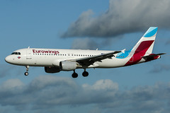 D-ABNH (PlanePixNase) Tags: aircraft airport planespotting haj eddv hannover langenhagen eurowings airbus 320 a320
