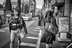 Tokyo street (harumichi otani) Tags: blackandwhite streetphotography street monochrome tokyo
