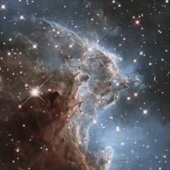 Nébuleuse en émission de la Tête de singe NGC 2174 (photopoésie) Tags: ngc2174 hubble têtedesinge orion