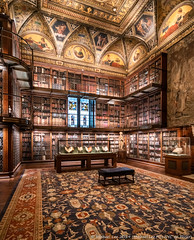 Morgan Library and Museum (20191020-DSC06916) (Michael.Lee.Pics.NYC) Tags: newyork morganlibrary ohny openhousenewyork museum library architecture shiftlens ceiling sony a7rm4 laowa12mmf28 magicshiftconverter