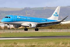 PH-EXL_07 (GH@BHD) Tags: phexl embraer erj erj175 erj175200std kl klm klmcityhopper belfastcityairport royalairforce aircraft aviation airliner regionaljet bhd egac