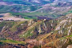 Le balze di Volterra (1) - The crags of Volterra (1) (Eugenio GV Costa) Tags: approvato tuscany outside campagna toscana countryside campo volterra balze