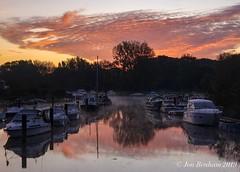 Stour River sunrise (Jon Benham Photography) Tags: reflections mist dorset christchurch sunrise river stour