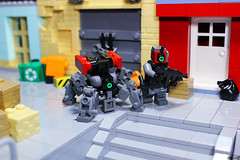 District 05 - Special Operator DBG-DR (Devid VII) Tags: vii devid support lego district military details inspection scene special controls minifig operator diorama moc drone dbg 05 minifigs minifigure drones minifigures