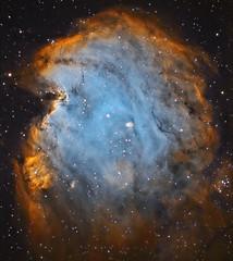 Nébuleuse en émission de la Tête de singe NGC 2174 (photopoésie) Tags: hubble têtedesinge ngc2174 orion