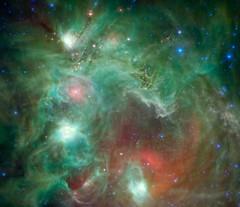 Nébuleuse en émission de la Tête de singe NGC 2174 (photopoésie) Tags: spitzer têtedesinge ngc2174 orion