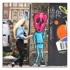 STREET ART by MOWSCODELICO (StockCarPete) Tags: mowscodelico glor streetart londonstreetart character urbanart graffiti graffitiart shoreditch london uk