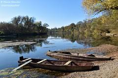 Luka Pokupska, Karlovac County, Croatia - Autumn time on river Kupa (Marin Stanišić Photography) Tags: lukapokupska croatia karlovaccounty river kupa autumn boats flickrunitedaward
