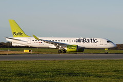 YL-AAT CS300 AirBaltic (eigjb) Tags: dublin airport eidw international collinstown ireland plane spotting aviation transport airliner aircraft airplane aeroplane ylaat cs300 air baltic bombardier cseries airbus a220 bcs3 jet bd500 a220300
