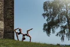 (dimitryroulland) Tags: nikon d750 85mm 18 dimitryroulland nature natural light duo flexible flexibility green sky dance dancer performer art artist gym fitness lesbianeroticism