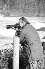 Surf Watching (creepingvinesimages) Tags: hmm blackandwhite bw monochrome monday boilerbay centralcoast oregon pacificocean ocean surf waves nikon d7000 pse14 topaz
