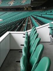 Twickenham seats (Ivan) Tags: twickenham seats rugby rows