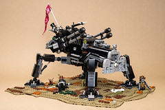 War Chicken (02) (Mateusz92) Tags: lego afol mech mad max fury road war rig post apocalyptic diesel zbudujmy to