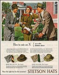 Stetson Hats (novice09) Tags: advertising advert ad magazinead stetson ipiccy