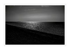 North sea - Nordsee (b_kohnert) Tags: sylt föhr northsea sea clouds sky landscape nature monochrome blackandwhite