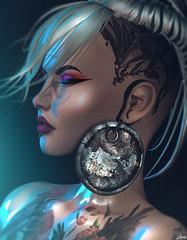 Amaranth.. (Anais Maelle) Tags: art blogger creative fashion italian maelleanais secondlife shi style uberevent