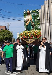 St Jude Thaddeus (Lawrence OP) Tags: stdominic's sanfrancisco procession saint friars dominican statue pilgrimage apostle stjude