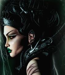 Helena (marduklust resident) Tags: sl avatar second life dae fangs bride frankestain zombie pendulum hcii su suicidal unborn
