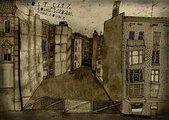 (sandra rummler) Tags: berlin westberlin crelle 1982 lost city crows tristesse