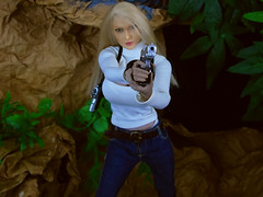 Jenna Dinosaur Valley (1) (Blondeactionman) Tags: bamhq bamcomix doll phicen action figure photography agent of bam jenna one six scale playscale diorama dinosaur valley