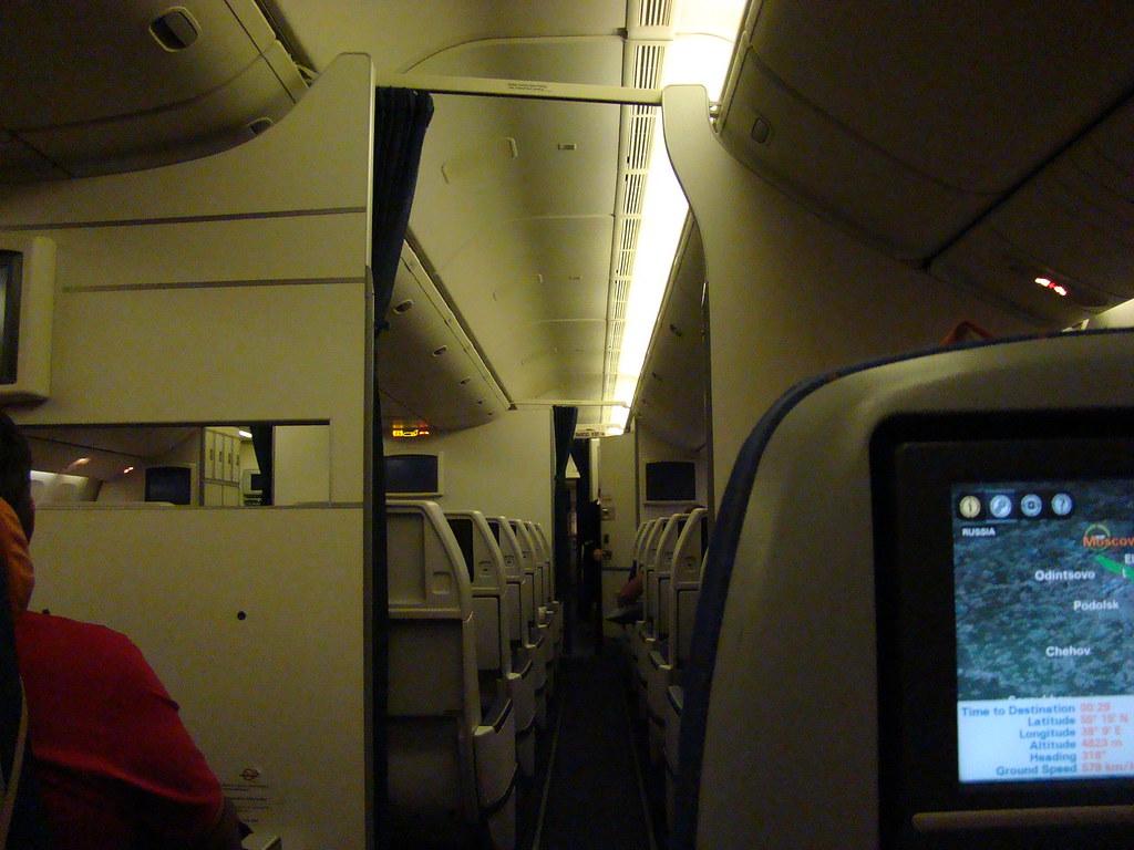 фото: Салон Boeing 777-300