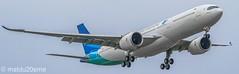 First Airbus A330-900Neo / Garuda Indonesia (matdu20eme) Tags: pilot avporn avgeek airport spotting spotter planespotting planespotter plane a330neo airbusa330neo airbus garudaindonesia airliner airline aircraft airplane aviation