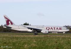 Qatar Cargo 777-F A7-BFF (birrlad) Tags: shannon snn international airport ireland aircraft aviation airplane airplanes airline airliner airways airlines cargo freighter freight transport boeing b777 b772 777 777f 777fdz a7bff qatar qatari racehorses horse charter