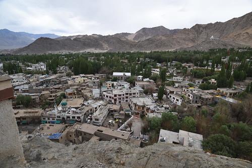 Leh Palace Base View