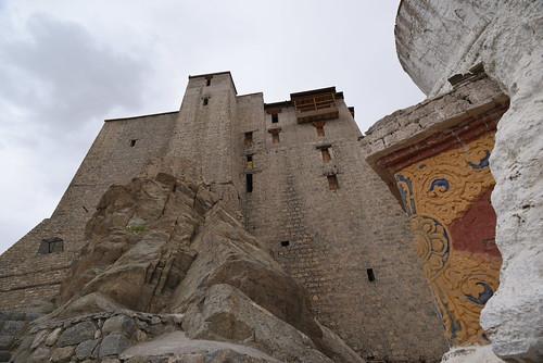 Base of Leh Palace