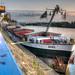 Im Ruhrorter Hafen